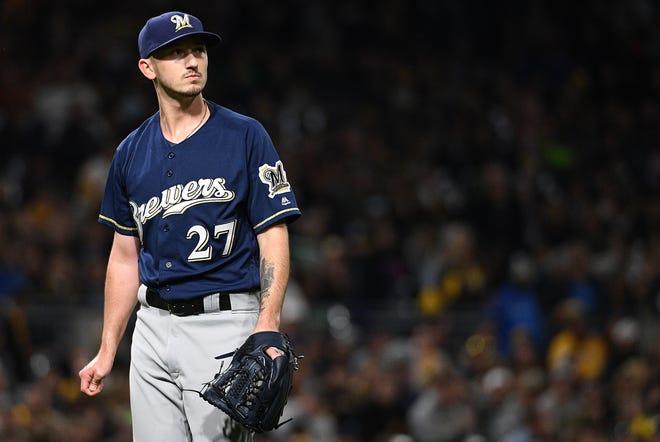 Milwaukee Brewers pitcher Zach Davies.
