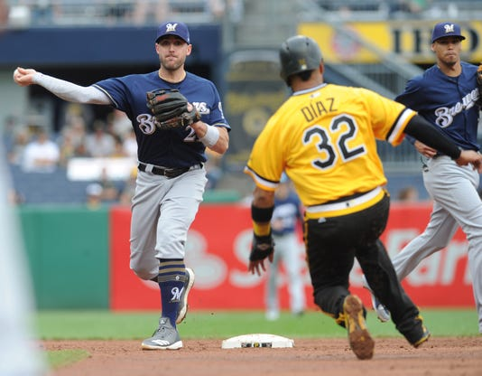 Mlb Milwaukee Brewers At Pittsburgh Pirates