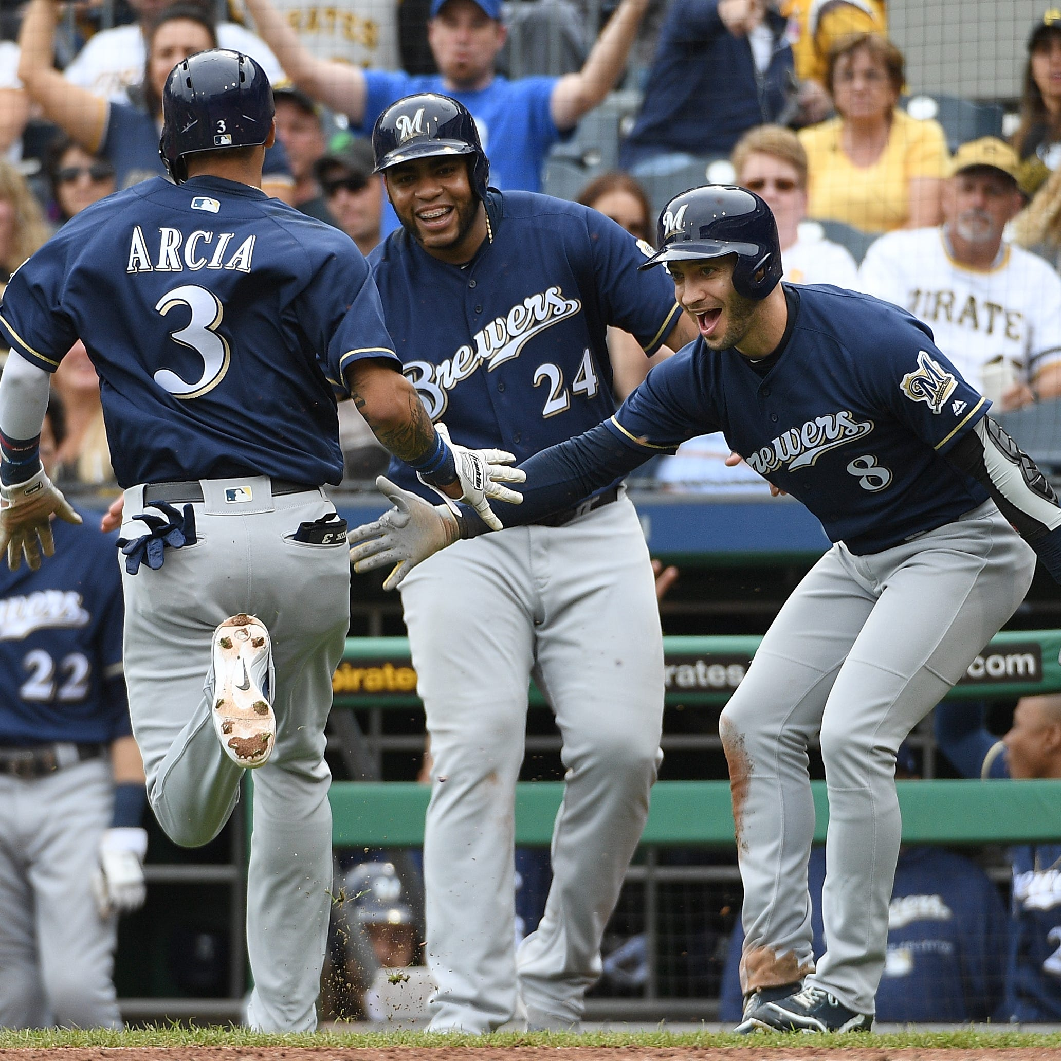 Brewers 13, Pirates 6: Offense provides a much-needed laugher