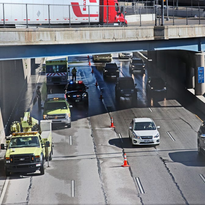 I-94 reopens at N. 25th St. following water main break