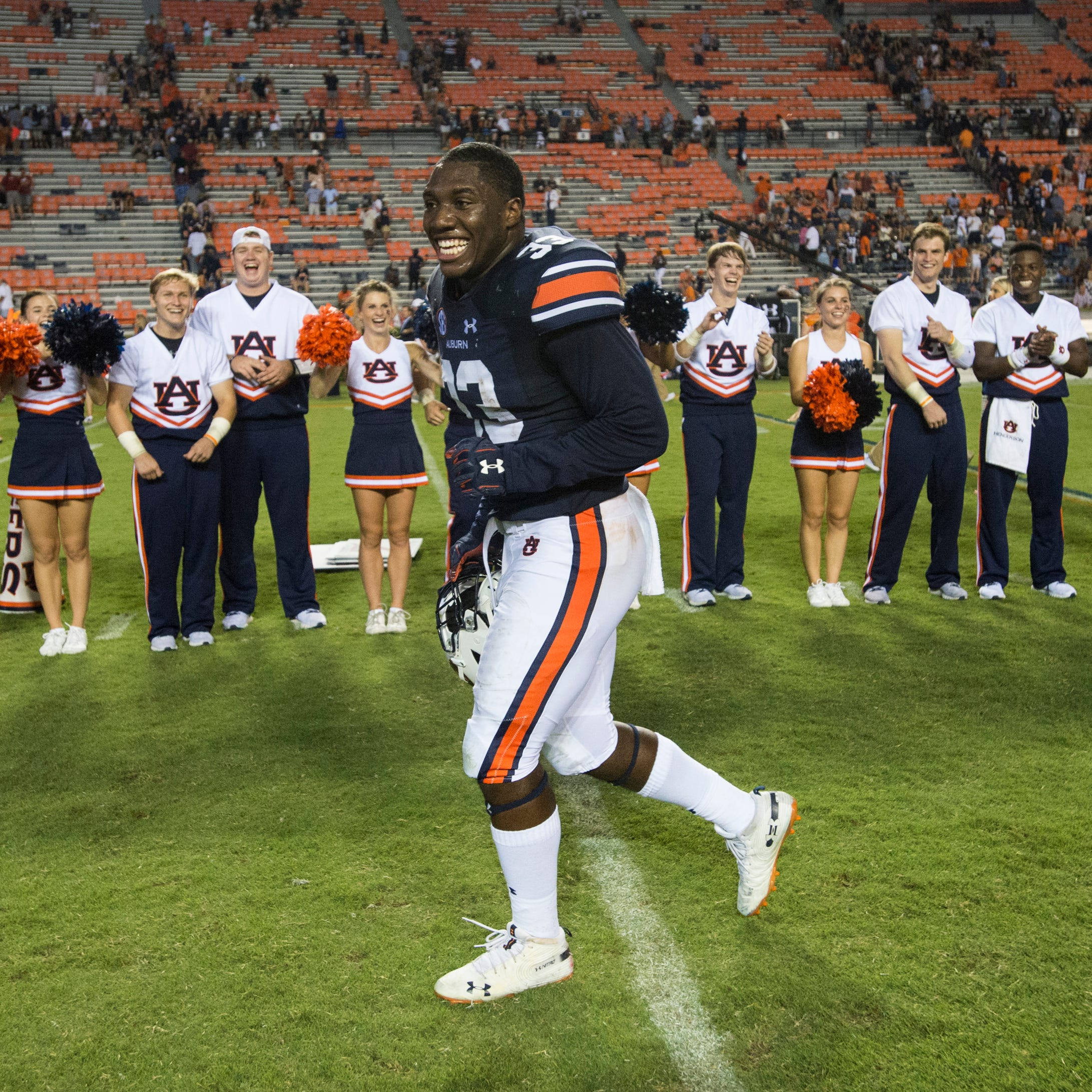 K.J. Britt leading talented but inexperienced group of Auburn linebackers brimming with potential