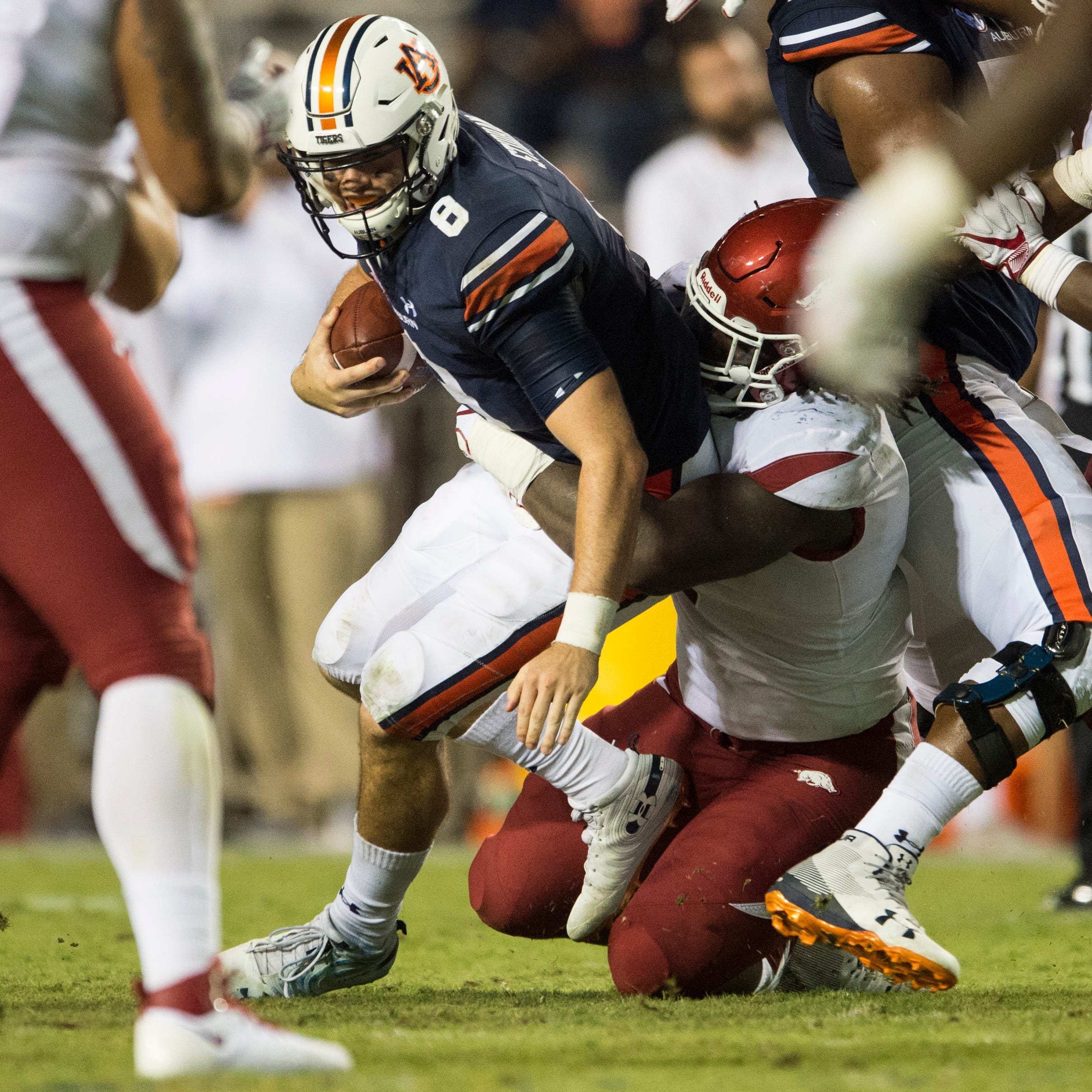 First downs the root of Auburn's struggles on offense against Arkansas