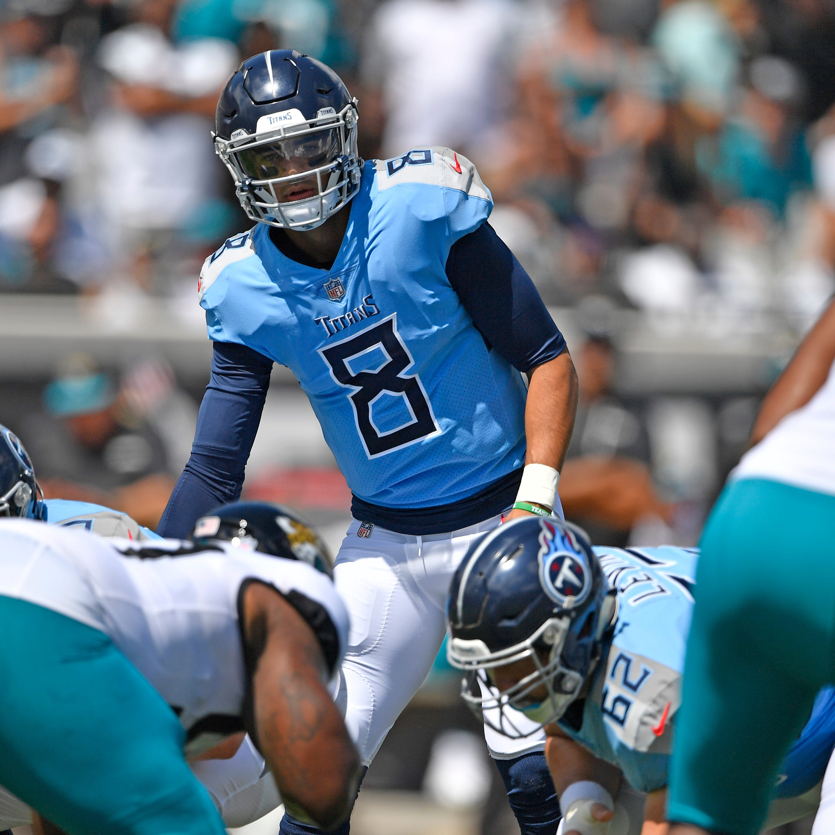 Live blog: Titans continue QB musical chairs in Jacksonville