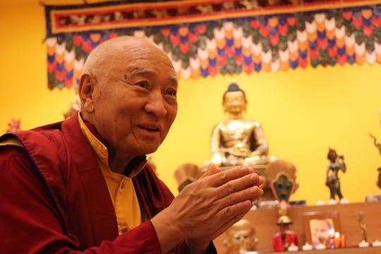 Tibetan Buddhist master Venerable Khenpo Tsewang Dongyal Rinpoche presided over theinauguration ceremony of the new Yeshe Tsogyal Temple in Berry Hill.