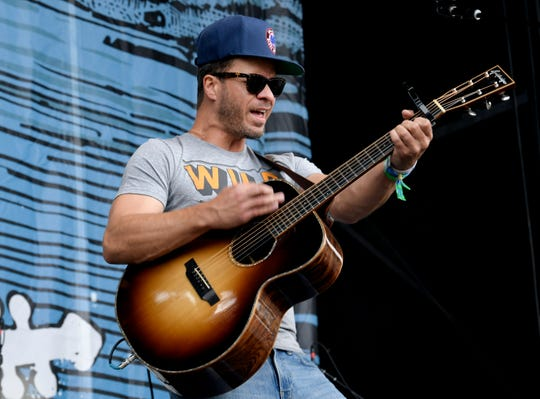 Singer-songwriter Amos Lee will appear at the Orpheum on Saturday.