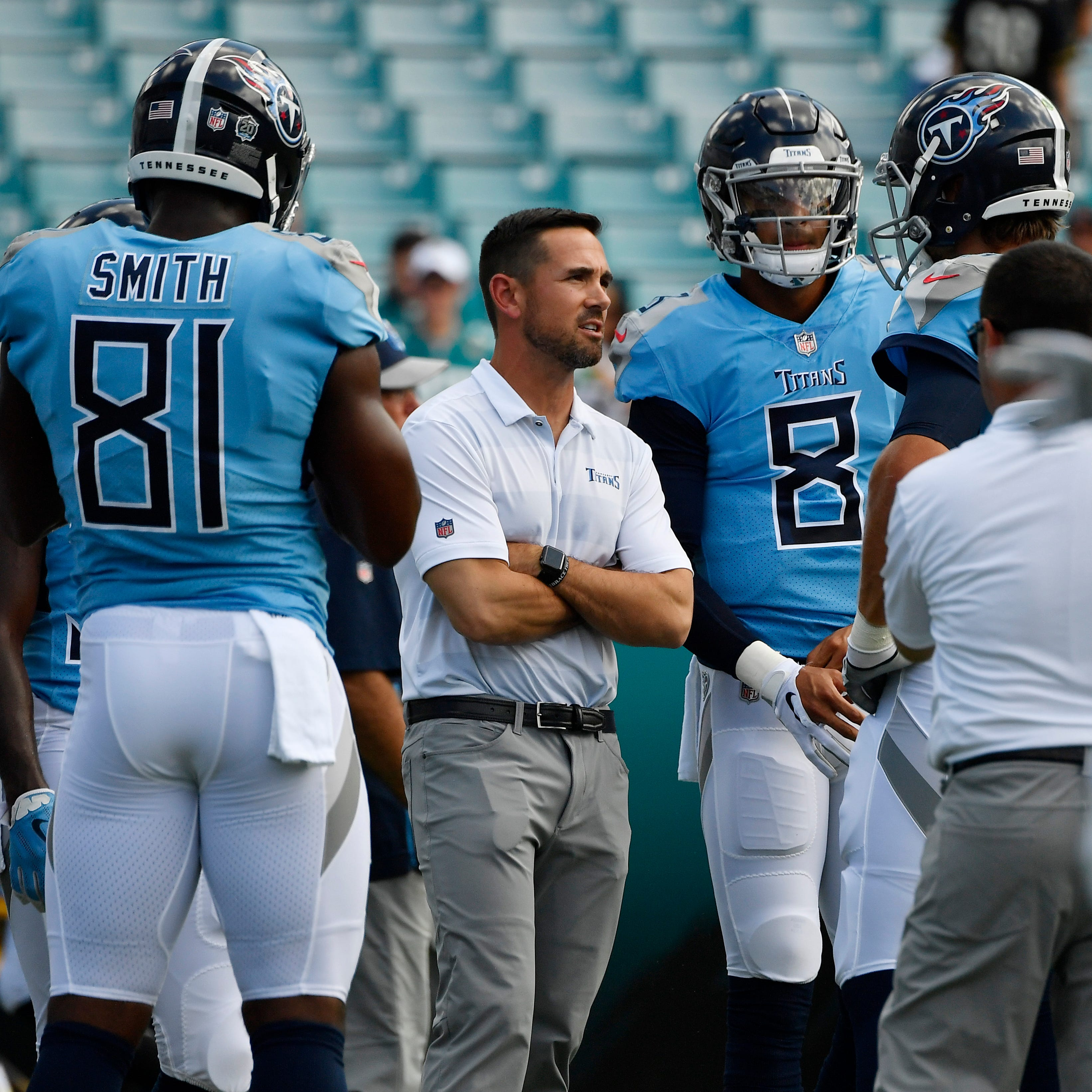 Titans offensive coordinator Matt LaFleur: 'We've been humbled'