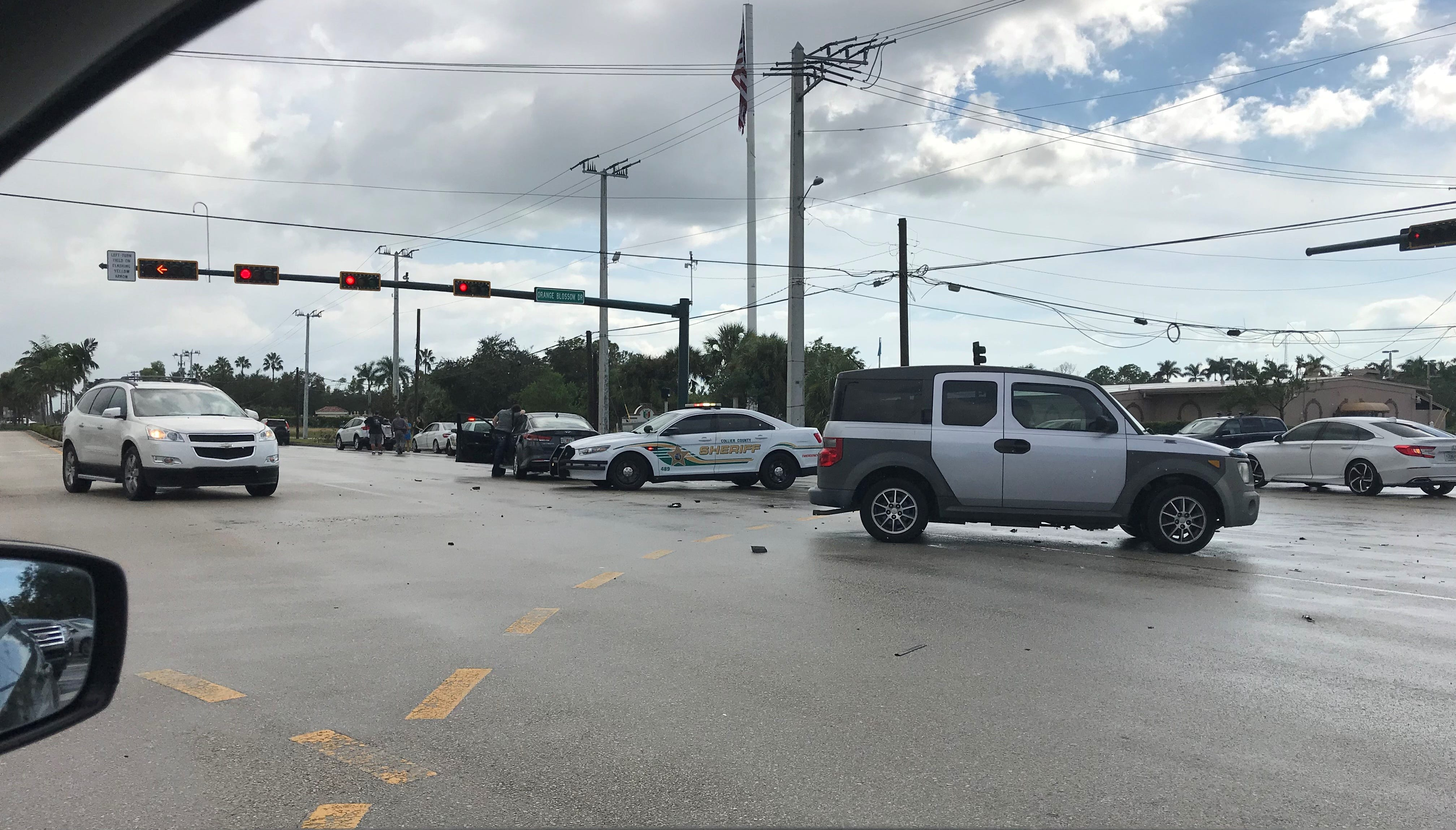 Three vehicles crash Sunday in same intersection as Thursday's deadly collision