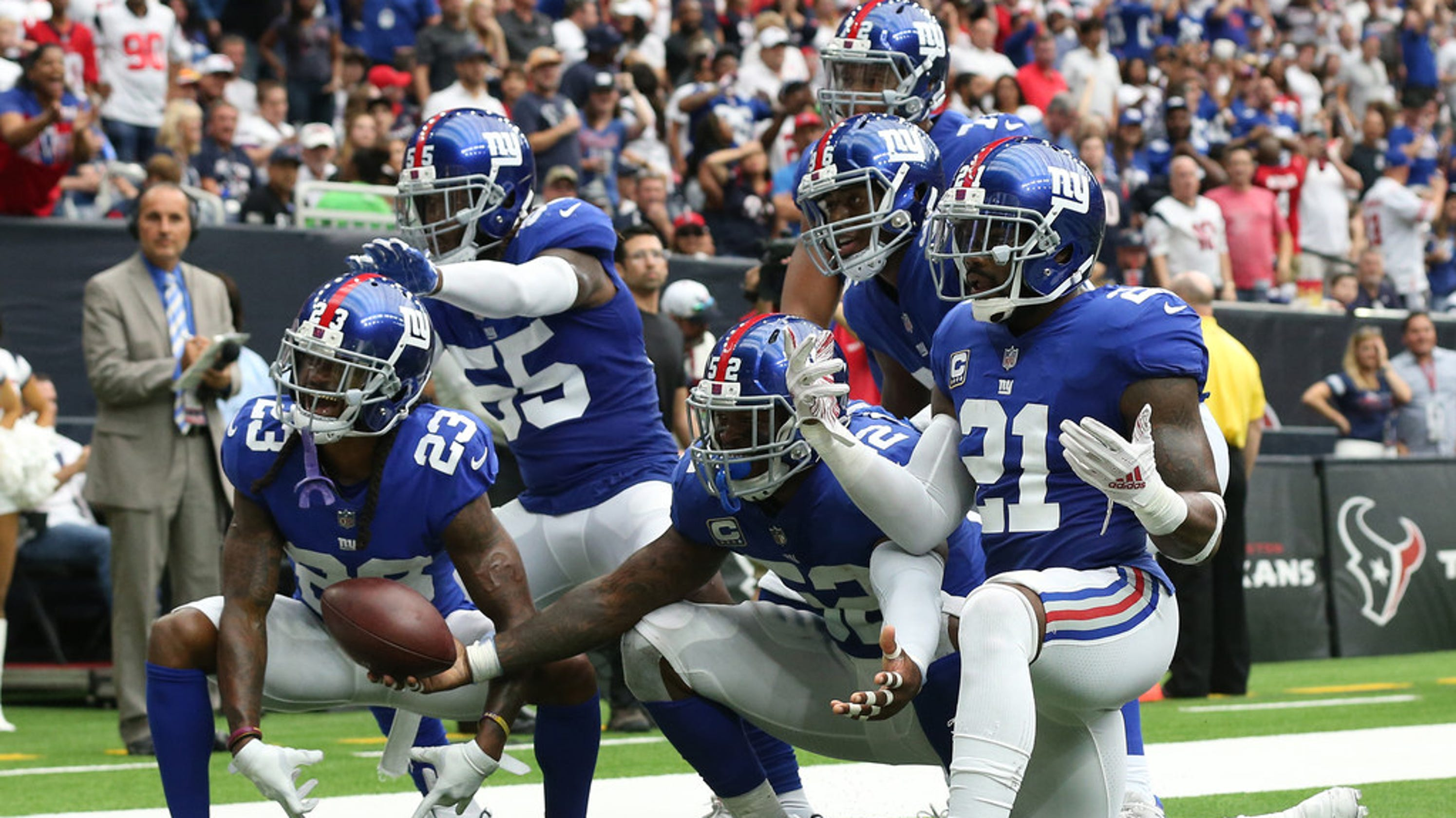 b6d7767ea NY Giants  5 takeaways from Sunday s season-saving victory over Texans