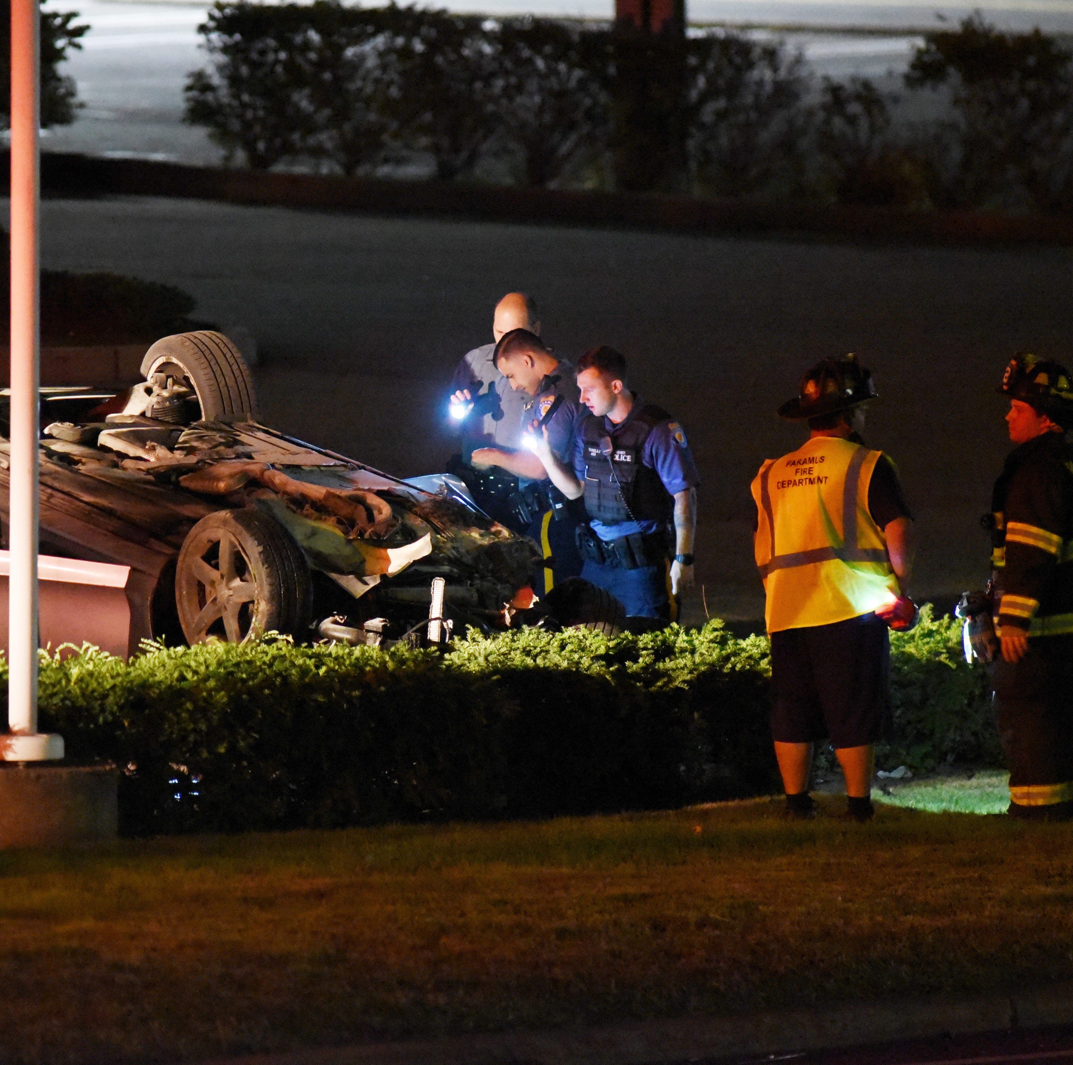 Fair Lawn man arrested in Route 4 Paramus crash that left one person seriously hurt
