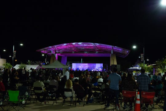AB. Quintanilla and the Kumbia King All Starz headline La Gran Fiesta on Saturday, September 22, 2018, on Plaza de Las Cruces