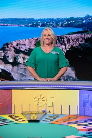 "Kristy McDougall of Las Cruces will be appearing on ""Wheel of Fortune"" Monday night on KRQE at 6:30 p.m."