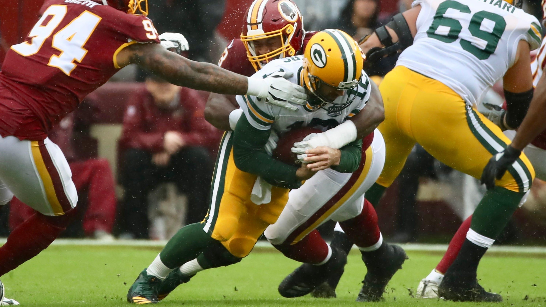 6f8b3505f Green Bay Packers fall to Washington 31-17 as penalties