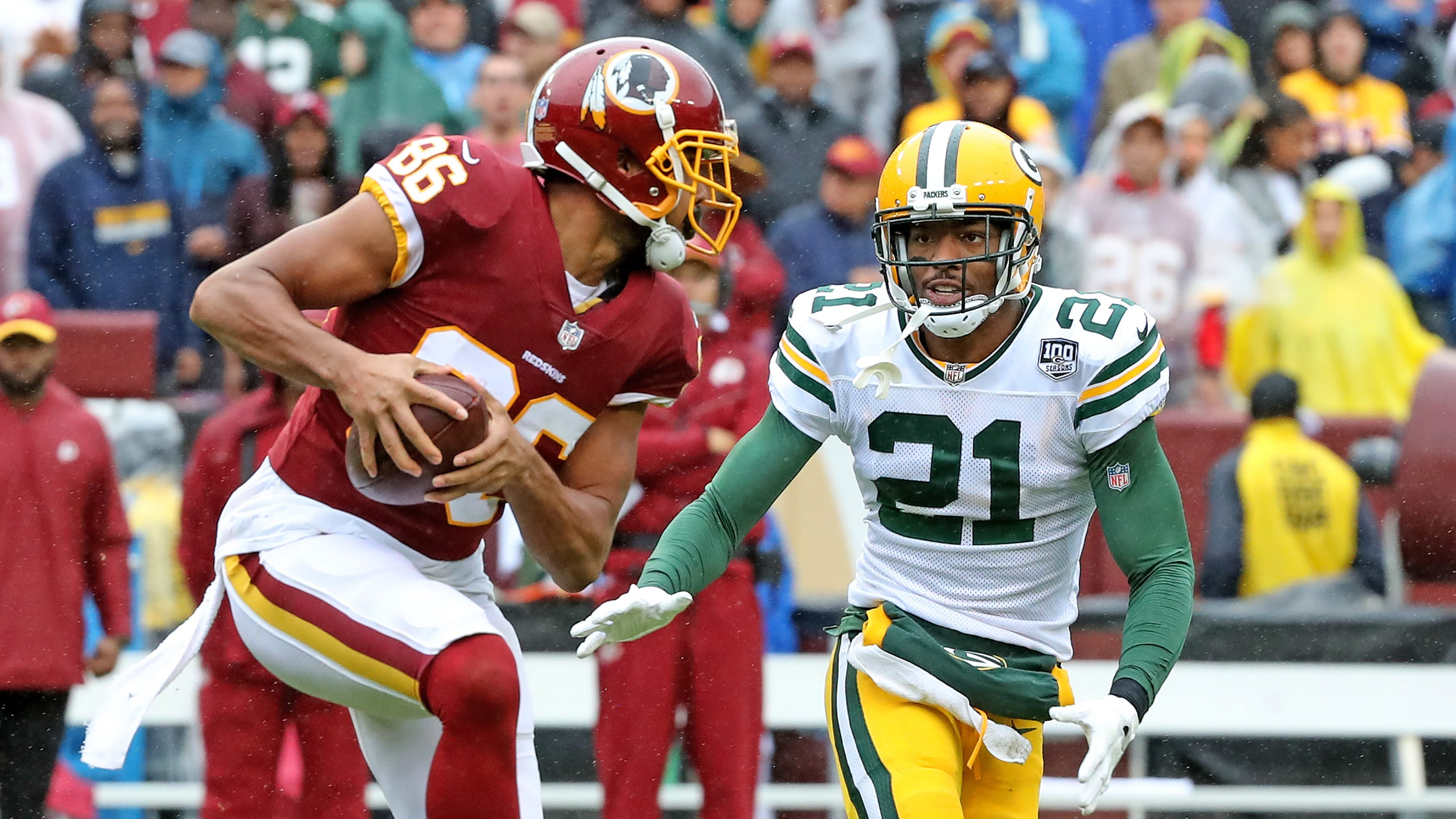c7c93a2d8 Green Bay Packers  defense breaks down in first half vs. Washington