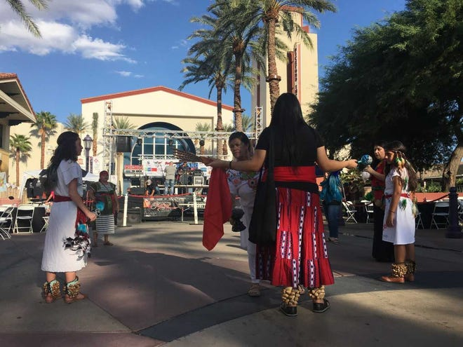The community prepares for the 2nd annual Tejano Music Festival in Cathedral City.