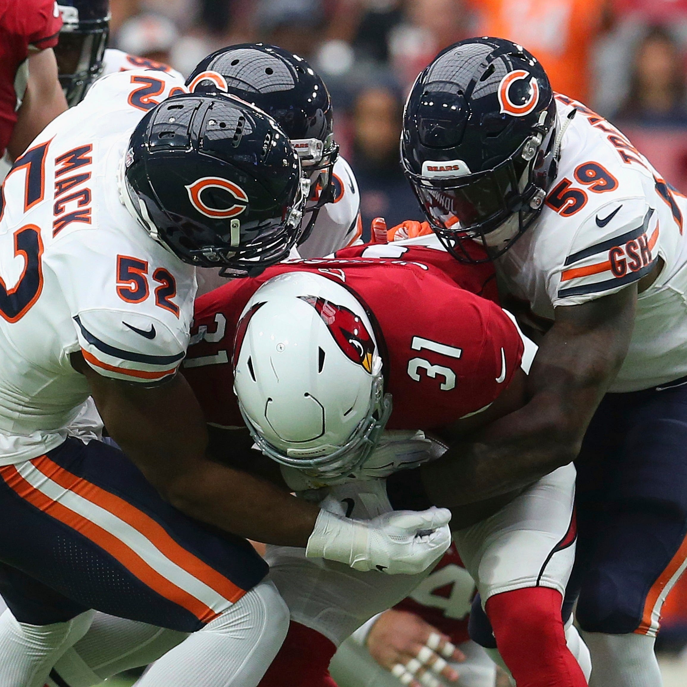 Cardinals turn to Josh Rosen late but can't finish what they started, fall to Bears