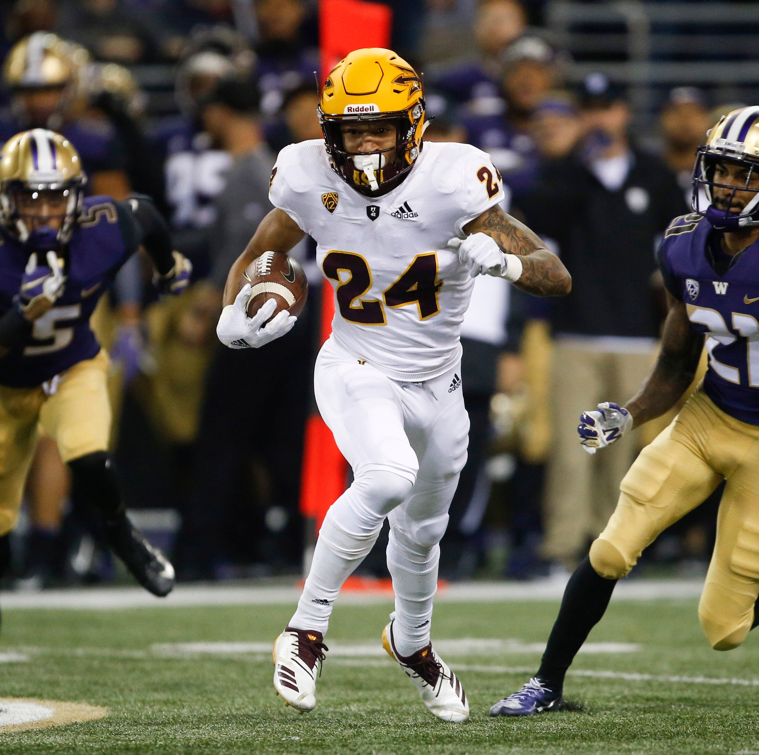 Arizona State football shows off 'turnover curls' against Washington