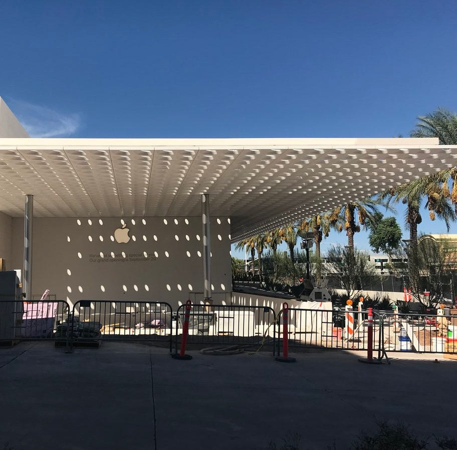 Apple opening its new Arizona store at Scottsdale Fashion Square this week
