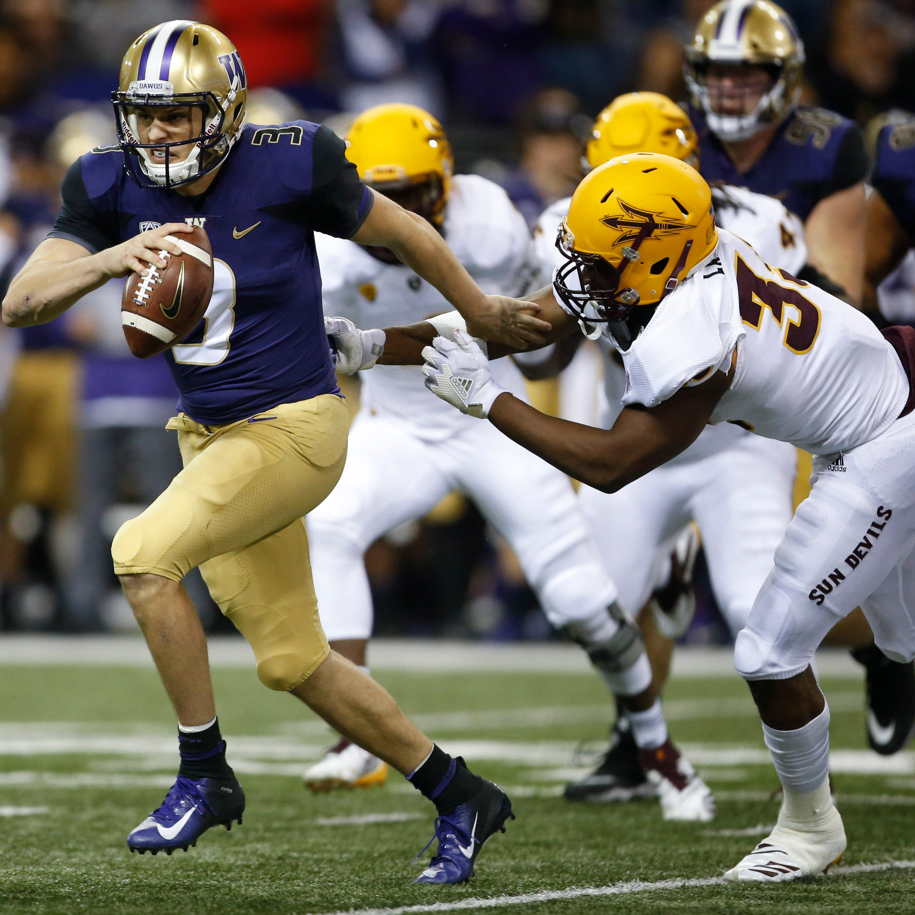 Jake Browning, Washington offense hold off ASU football