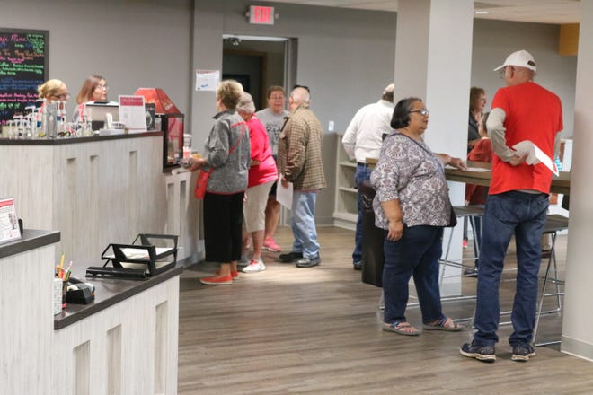 On Saturday, Port Clinton High School alumni checked out the new student union and media center, which was not around back when they were in school.