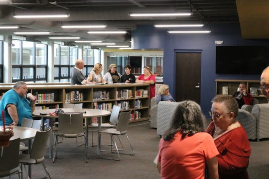 Perhaps the most significant difference alumni found at Port Clinton High School was its student union and media center, which opened last fall after a $1.2 million renovation to the old library space.