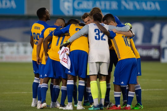 Reno 1868 FC had new kits for the  USL match against Las Vegas Lights FC on Saturday, Sept. 22, 2018 at Greater Nevada Field in downtown Reno.