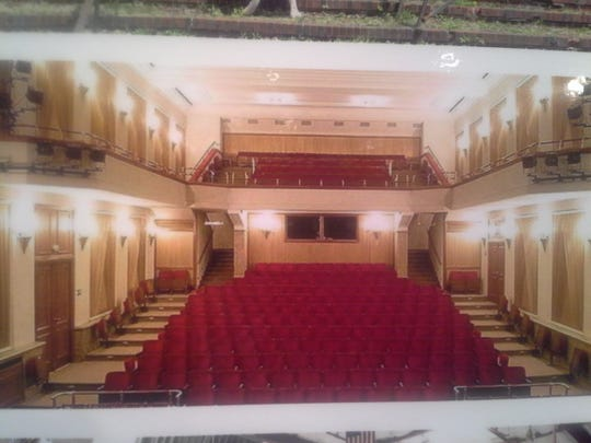 A rendering shows the envisioned performance hall in a yet-to-be-renovated 90-year-old decommissioned synagogue on Joseph Avenue.