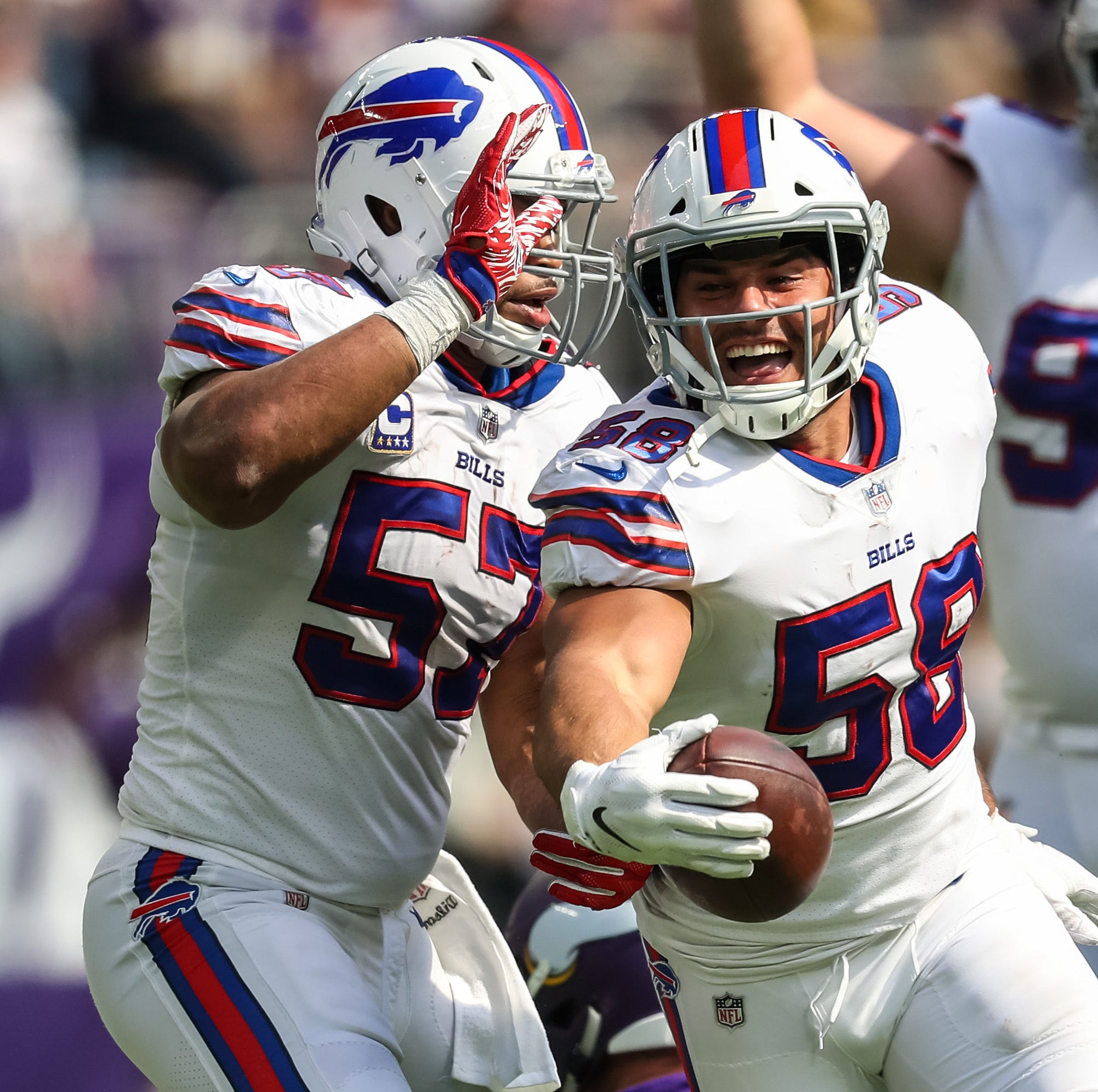 Bills pull off a shocker with hurdling rookie QB, dynamic defense in Minnesota