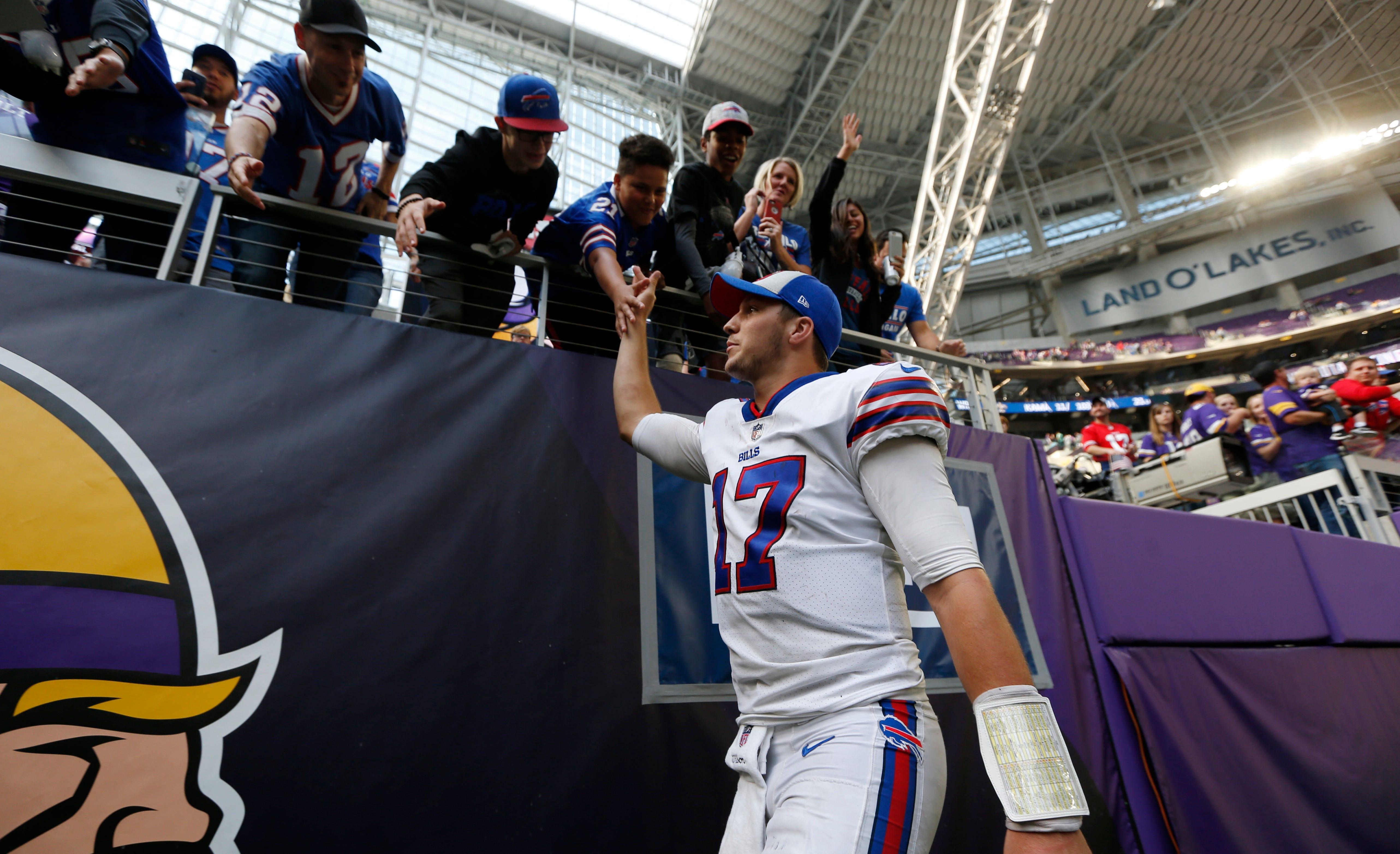 f9abc44a2 Buffalo Bills destroy the Minnesota Vikings in stunning fashion
