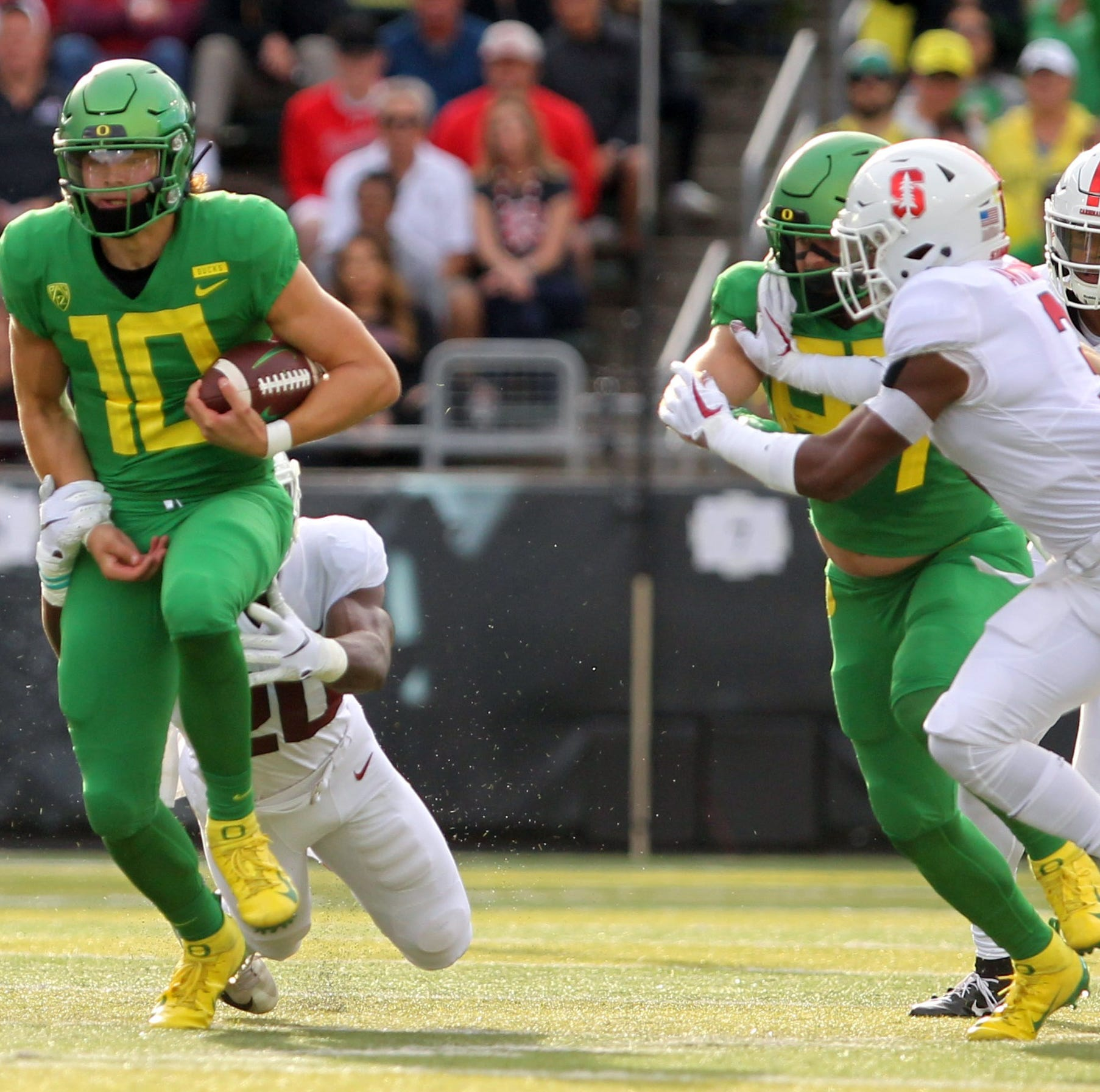 Oregon Ducks squander lead, lose to Stanford