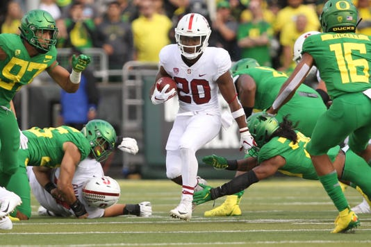 Ncaa Football Stanford At Oregon