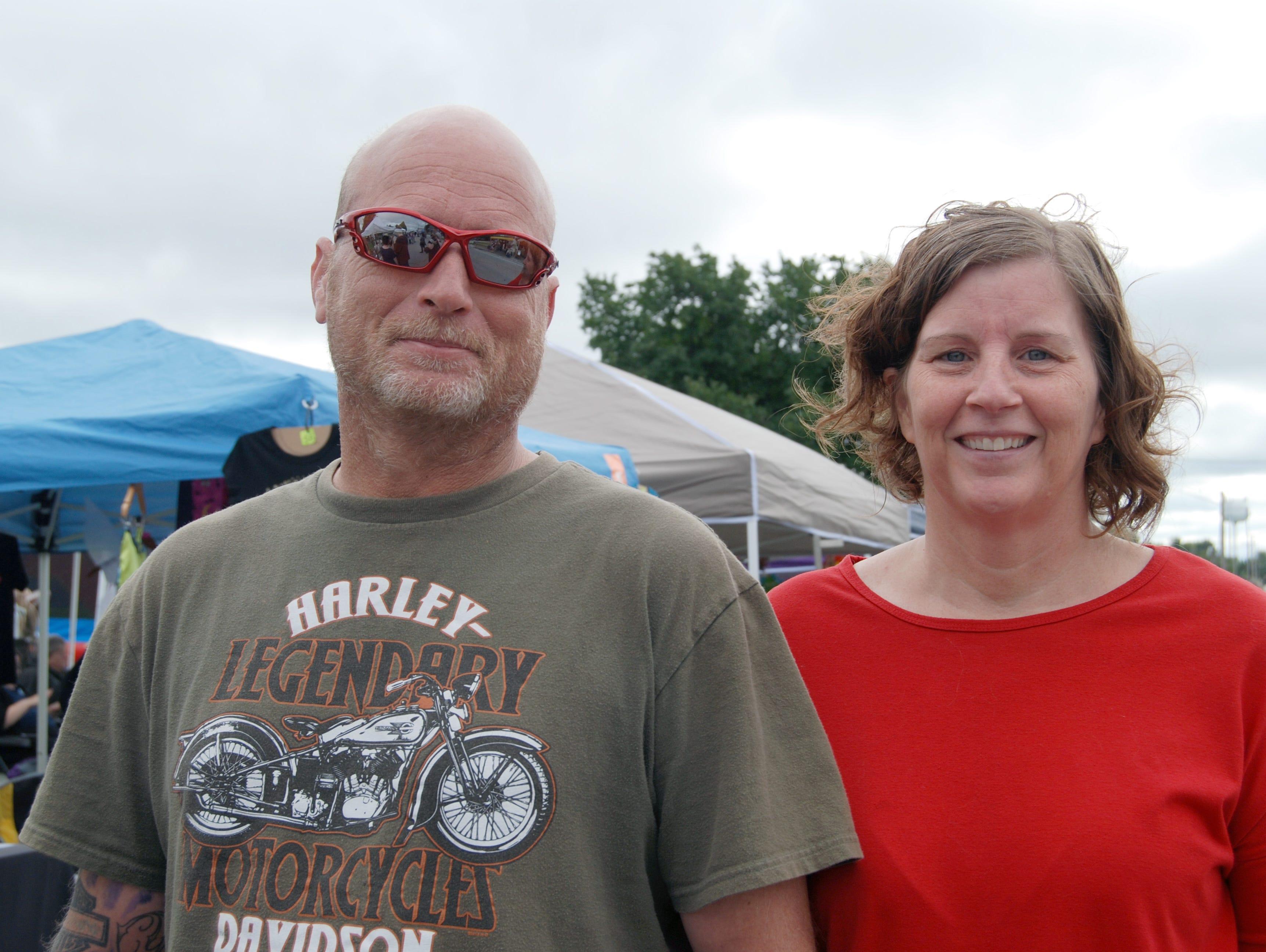 Charles and Carolyn Yates