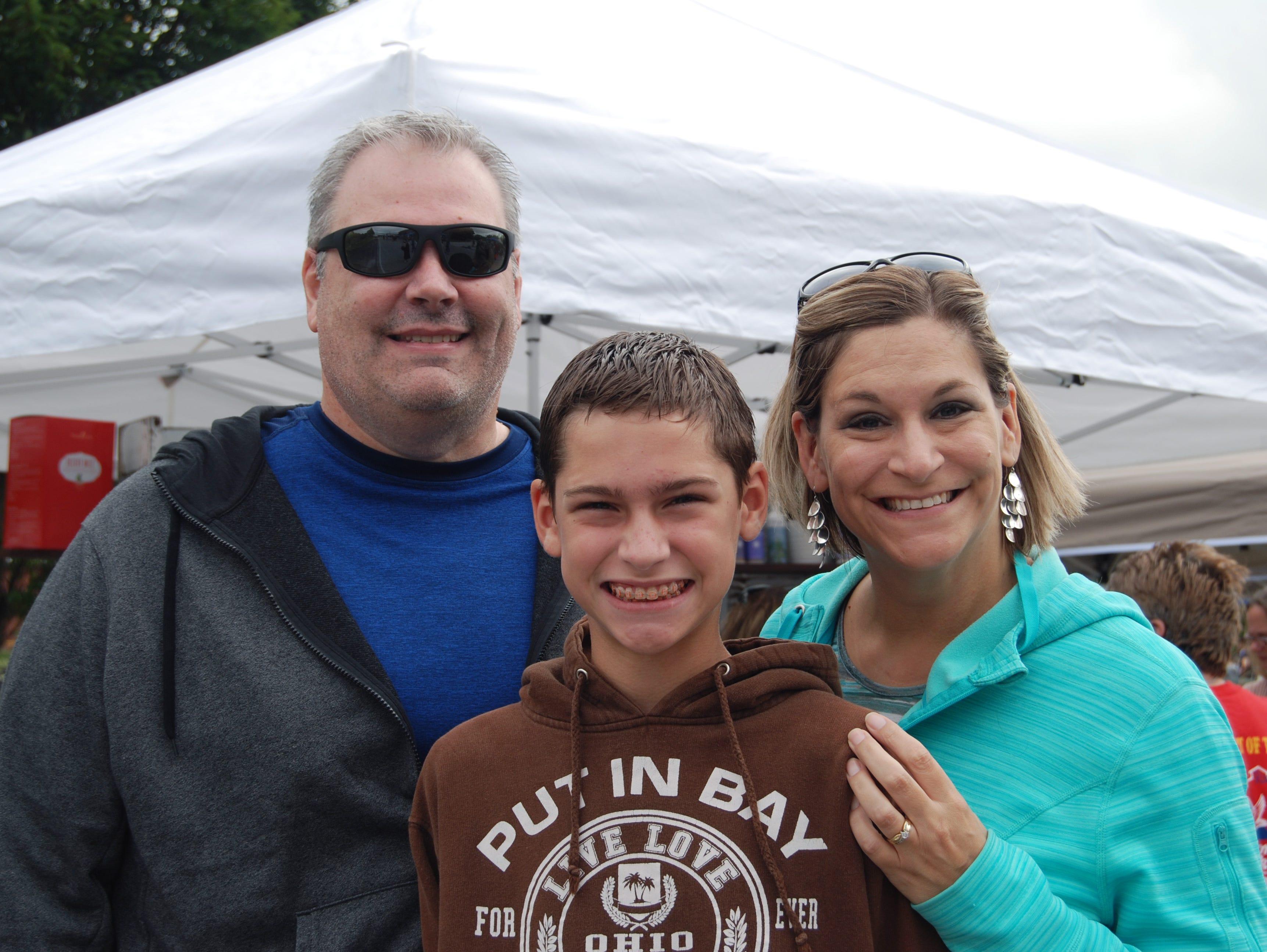 Ryan, Kayden and Renee McClure