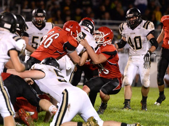 Riverheads' defense is allowing just over 10 points per game.