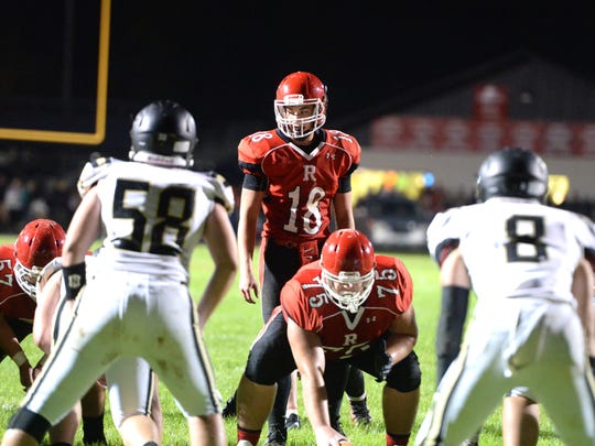 Riverheads quarterback Justin McWhorter (18) was chosen to play in the FCA all-star football game Dec. 16 at JMU.