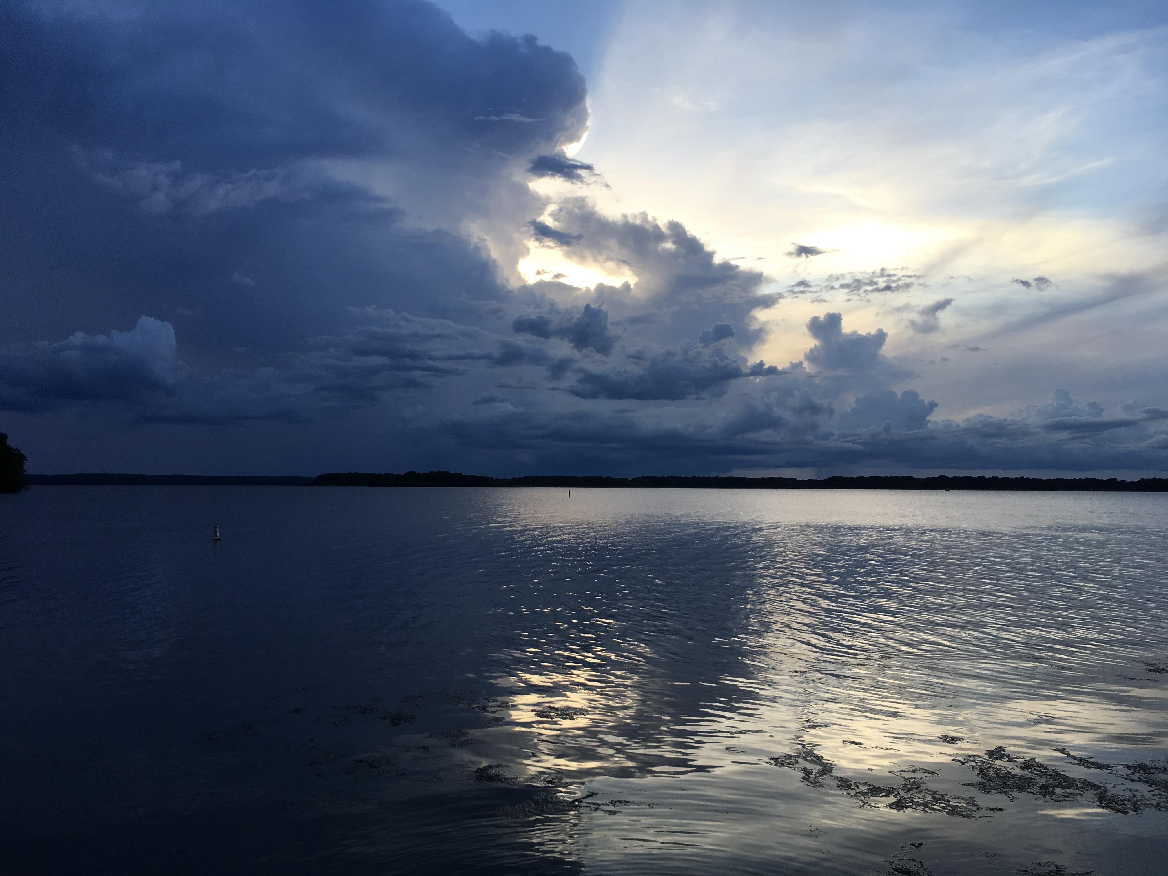 Twilight on Lake Seminole