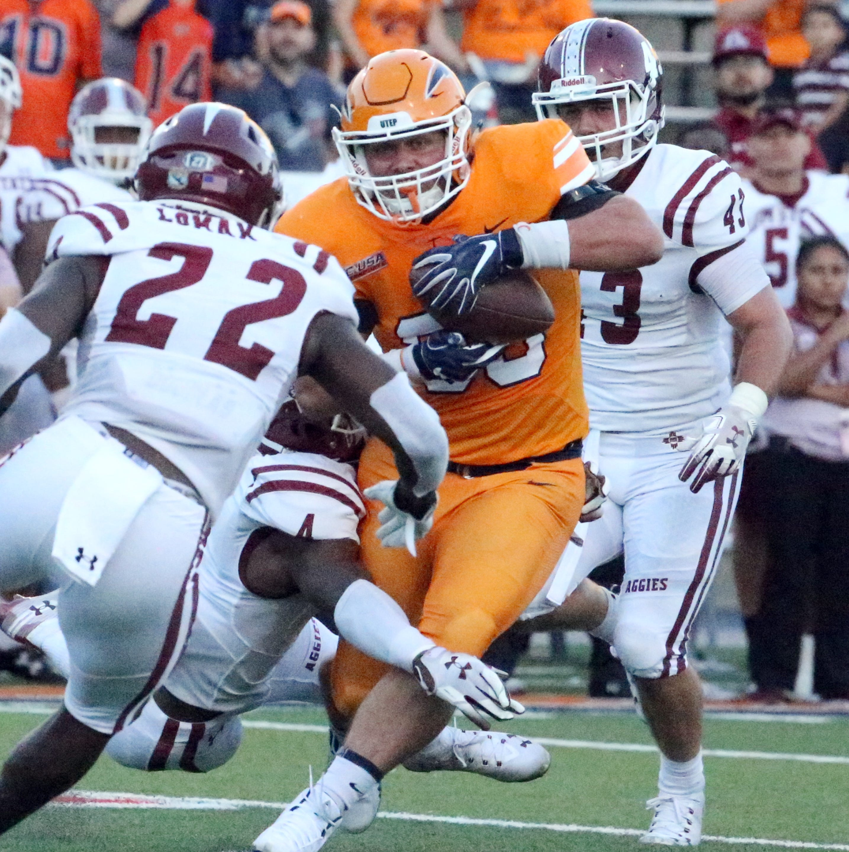 NMSU makes plays UTEP can't as longest losing streak in college football hits 16