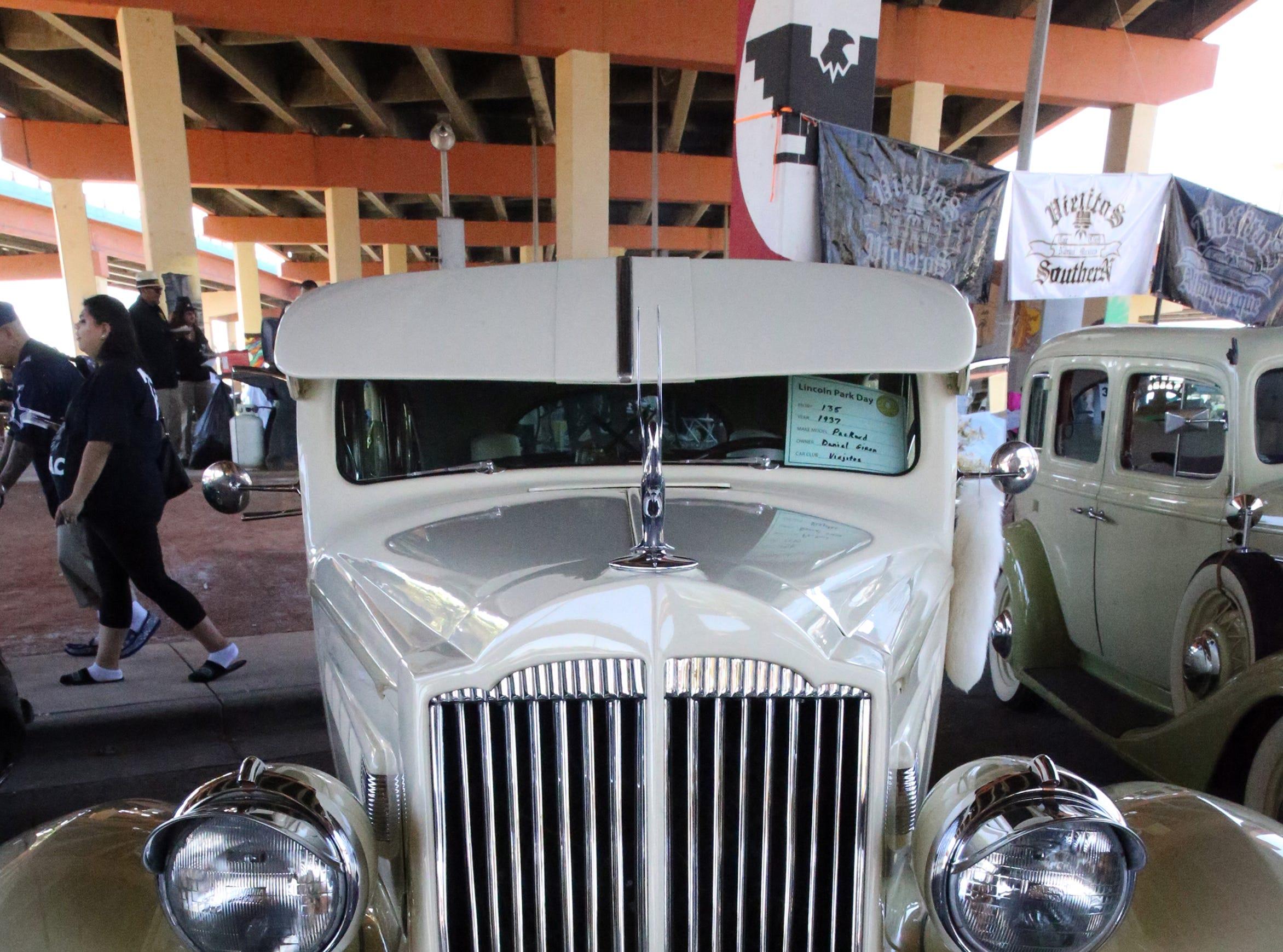 1937 Packard on vew Sunday.