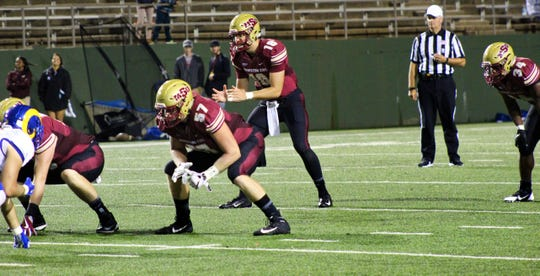 Layton Rabb threw for a career-high 457 yards and five touchdowns Saturday in Midwestern State's 57-36 victory over Angelo State at Memorial Stadium. Rabb has 16 touchdowns and no interceptions in 2018.