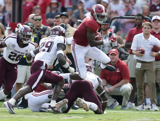 Ncaa Football Texas A M At Alabama