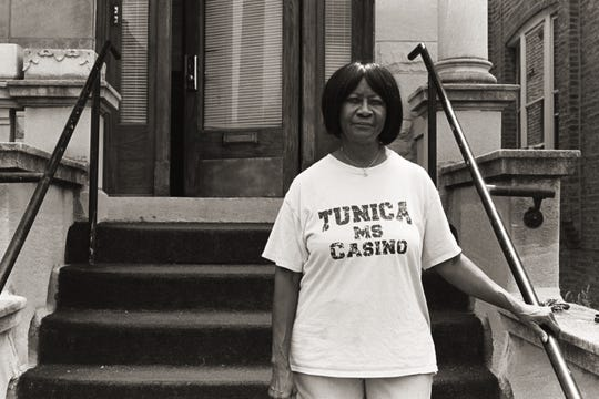 North Lawndale resident and block club president Gladys Woodson.