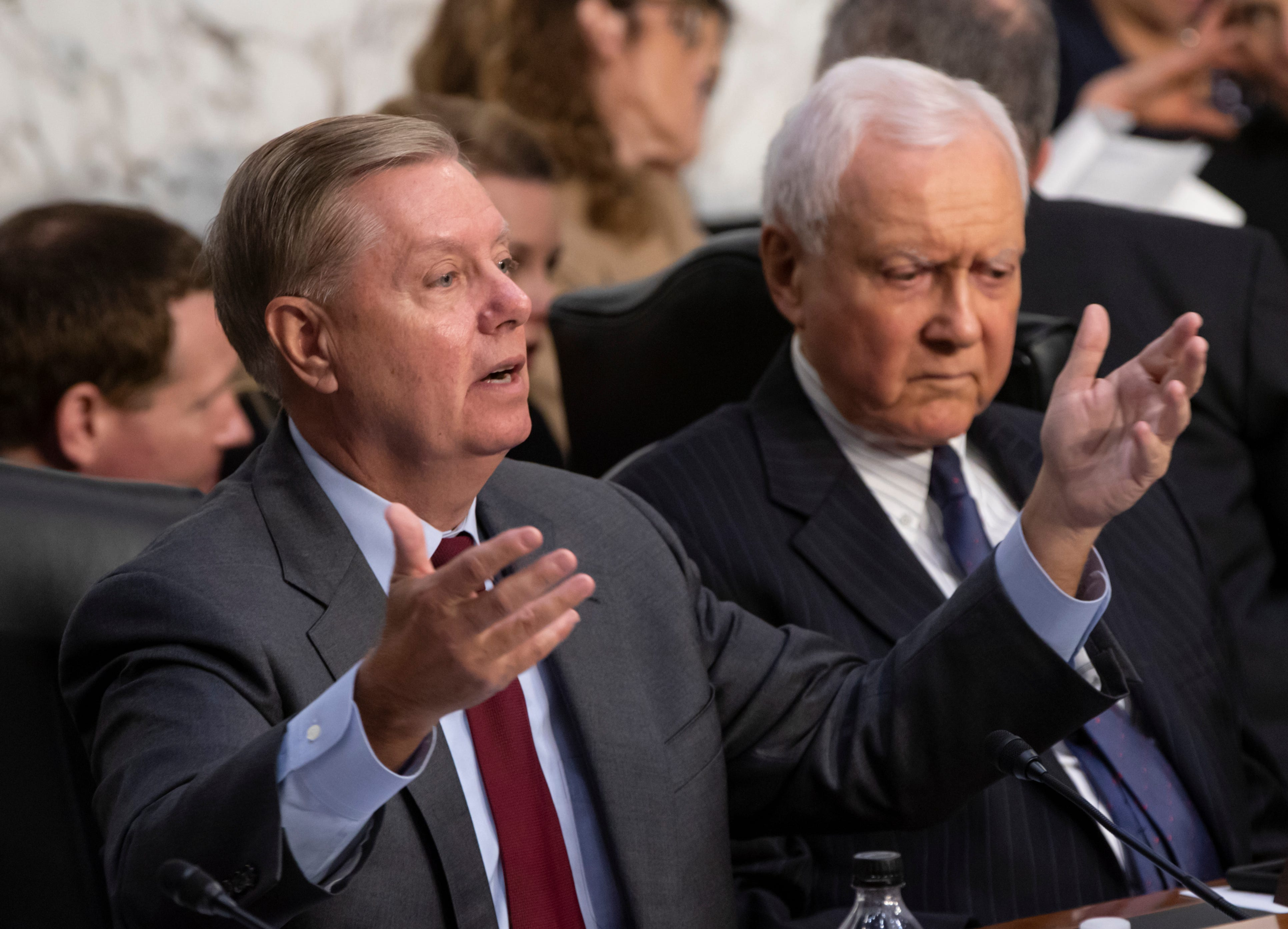 usatoday.com - William Cummings, USA TODAY - 'I'm not going to ruin Judge Kavanaugh's life over this': Sen. Graham doubts Ford's story