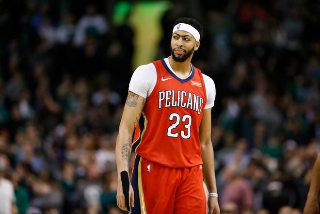 Five-time NBA All-Star Anthony Davis averaged a career-high 28.1 points last season for the New Orleans Pelicans.