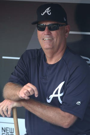 Braves manager Brian Snitker has helped steer Atlanta back to the playoffs with a young squad.