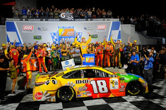 who drives for joe gibbs racing 2018