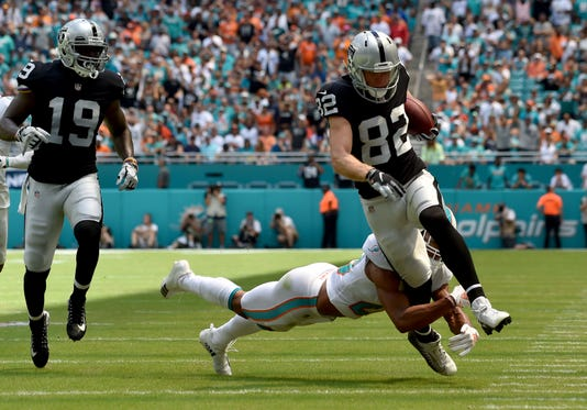 Nfl Oakland Raiders At Miami Dolphins