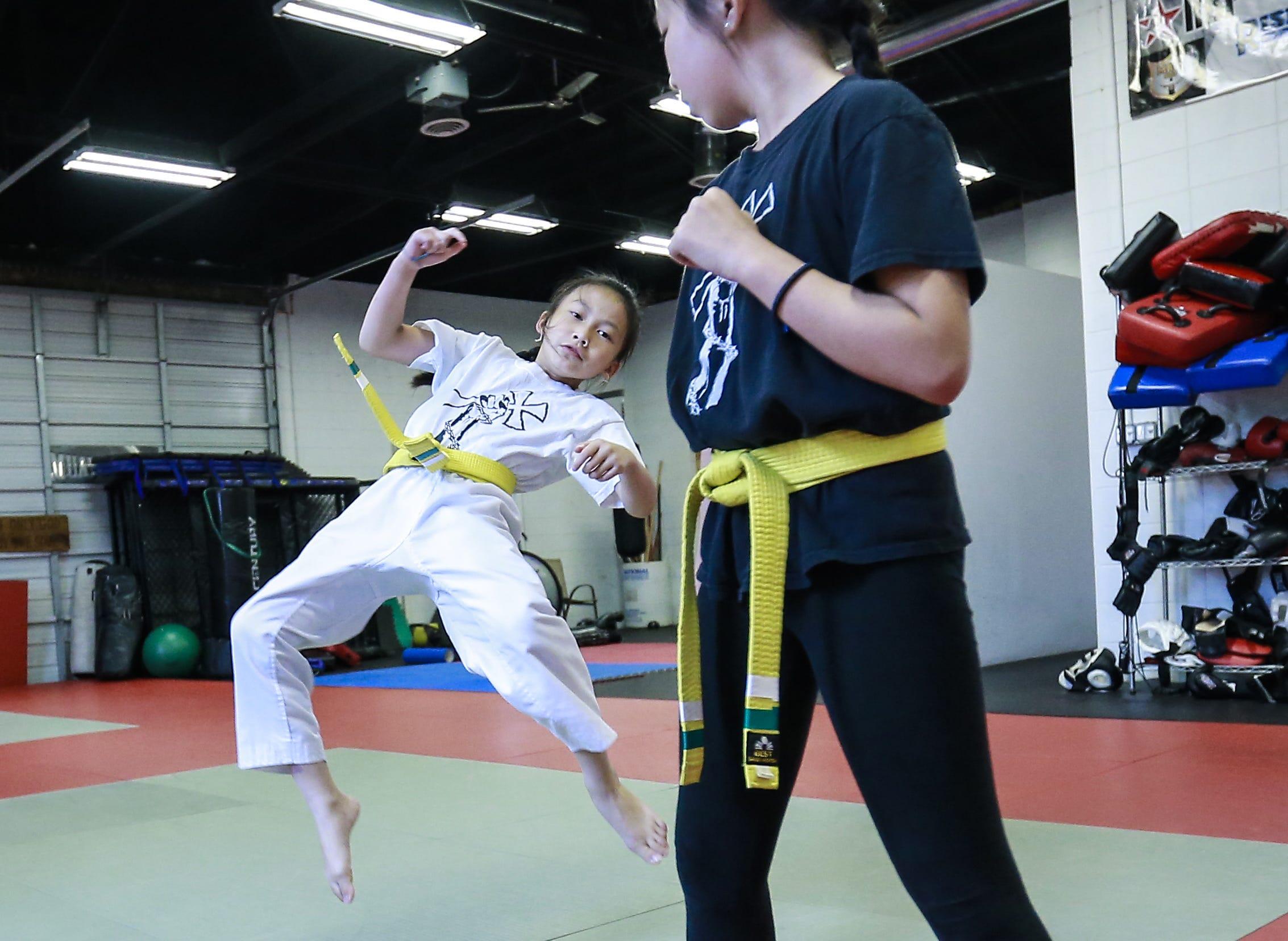 8-year-old Weston girl takes national taekwondo title