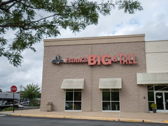 Frank's Big and Tall Men's Shop in Ocean Township.