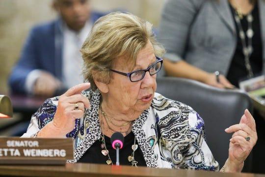 File photo of Senator Loretta Weinberg
