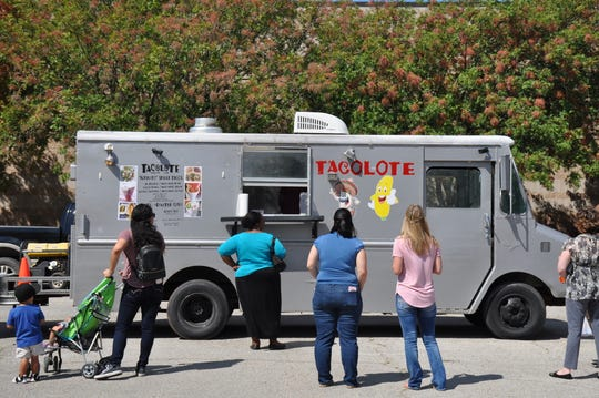 The Tacolote food truck set up at the Abilene/Taylor County Law Enforcement Center on Sept. 19 for a fundraiser benefiting the American Heart Association.