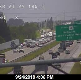 Two wrecks slow I95 traffic near Eau Gallie exit